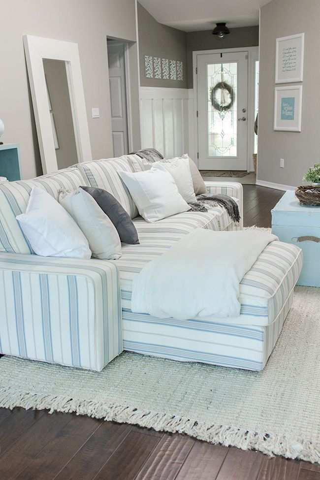 My New Kivik Slipcover And A Comfort Works Giveaway!