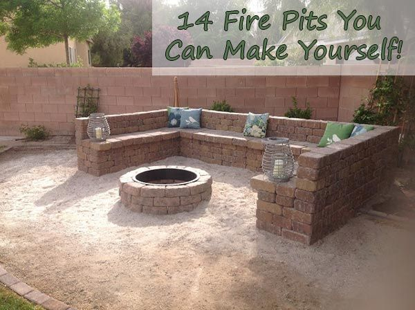 14 Fire Pits You Can Make Yourself