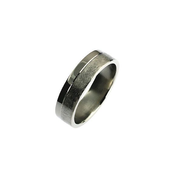 Wedding band men Titanium Titanium wedding by TorkkeliJewellery, $252.00