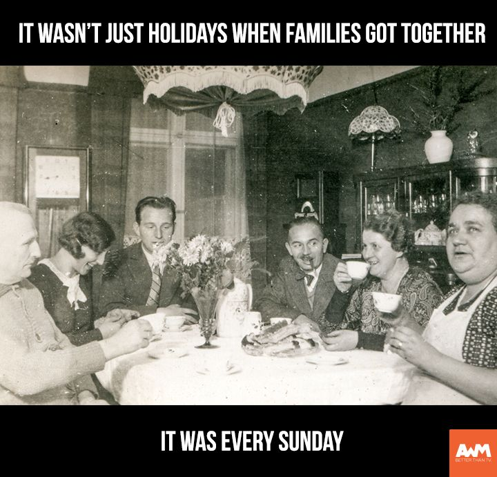 Do you remember Sunday dinners? Repin if you do!
