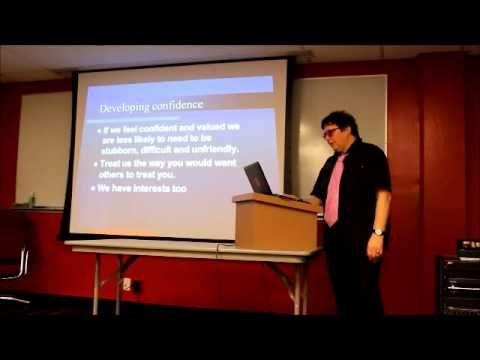 Dr Wendy Lawson Lecture Part 5