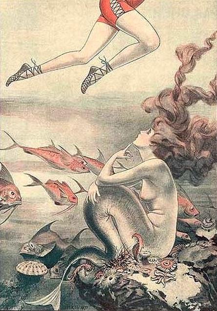*Inside page from the magazine La Vie Parisienne, 1921