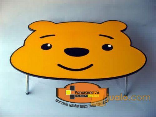 Meja Lipat Karakter Pooh Lucu untuk anak-anak Retail/Grosir Meja Lipat Karakter Lucu untuk anak-anak ,ringan dan koko