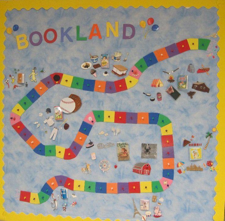 Bookland Bulletin Board
