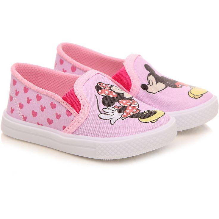 Tênis Infantil Disney Rosa Estampado Minnie