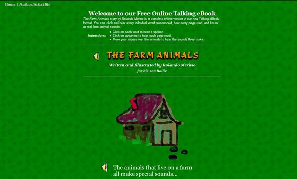 10 Websites For Reading Childrens Stories Online   image
