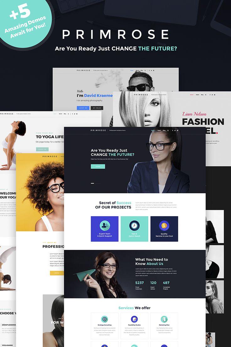 Primrose - Multipurpose WordPress Theme Big Screenshot