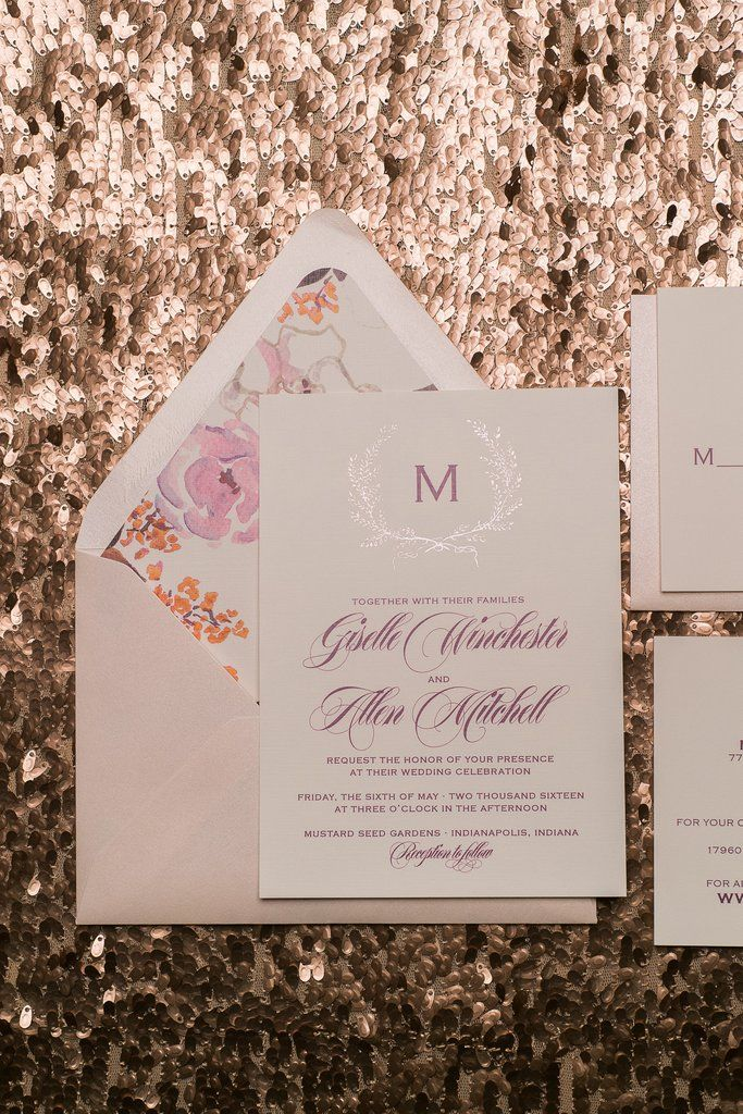 GISELLE Suite Rustic Package, blush rustic wedding invitations, burgundy, purple, lavender, velvet ribbon, foil stamping, laurels, the perfect wedding invitation for your boho wedding