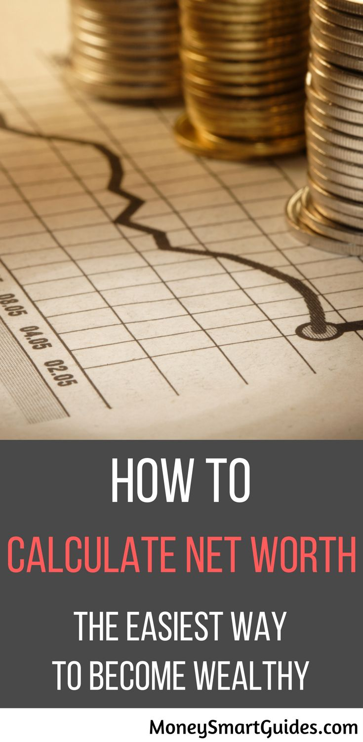 how to figure net worth