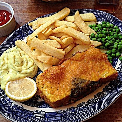 The Coach & Horses | London's first vegetarian and vegan pub, blah blah blah – look at these VEGAN FISH AND CHIPS. Nearest station: Leicester Square 21 Unmissable Vegan Places In London