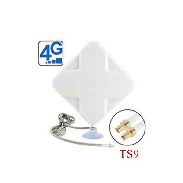 Cubierta 4g 35dbi 2 * ts9 antena mimo para huawei 4g módems e859 e5375 e3276 e5776 e392 e5571 e8278