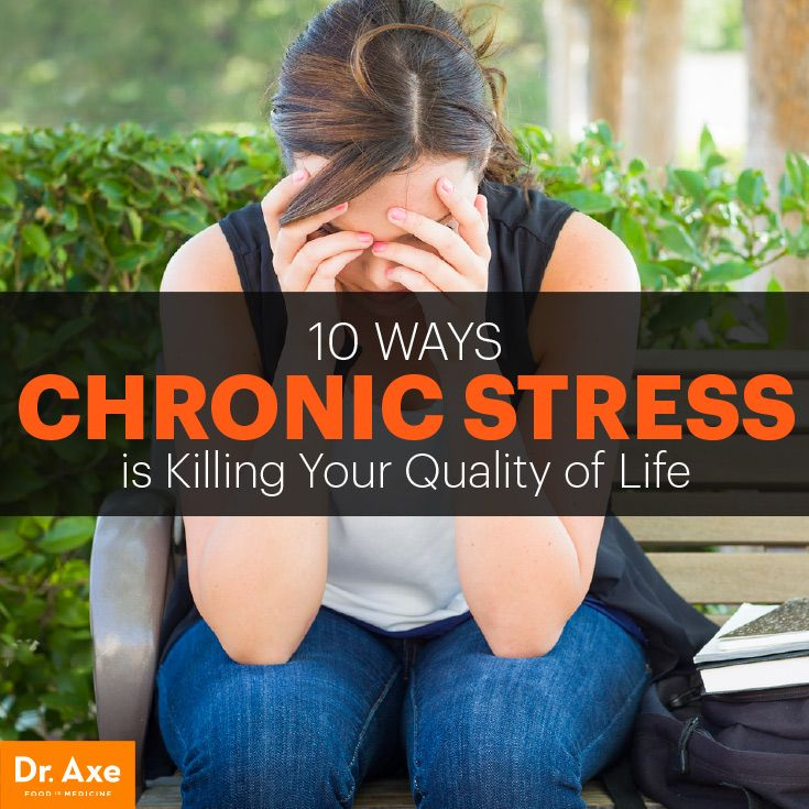 How chronic stress may be killing you.