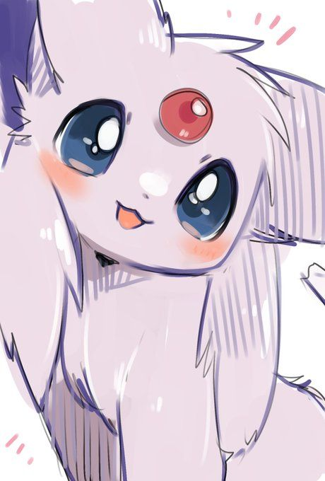 (Be the trainer im the espeon just jump in) When I was a eevee i was given to you and we have been together for years but you have filled the pokedex and beaten the champion. Your journey is almost over but i dont want it to end