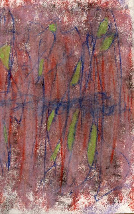 #Conte on #handmade paper... #drawings I make in response to #poems I write Check out my blog for more #poetry