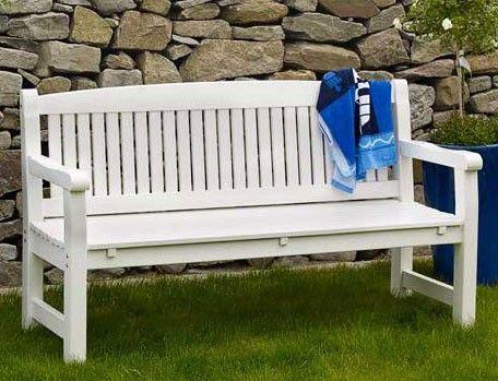 Скамейка Laxvik, 3-х местная - Скамейки деревянные - Садовые скамейки
