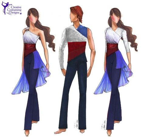 Color guard<<<My marching bands theme this year is Les Miserables and these outfits are amazing!