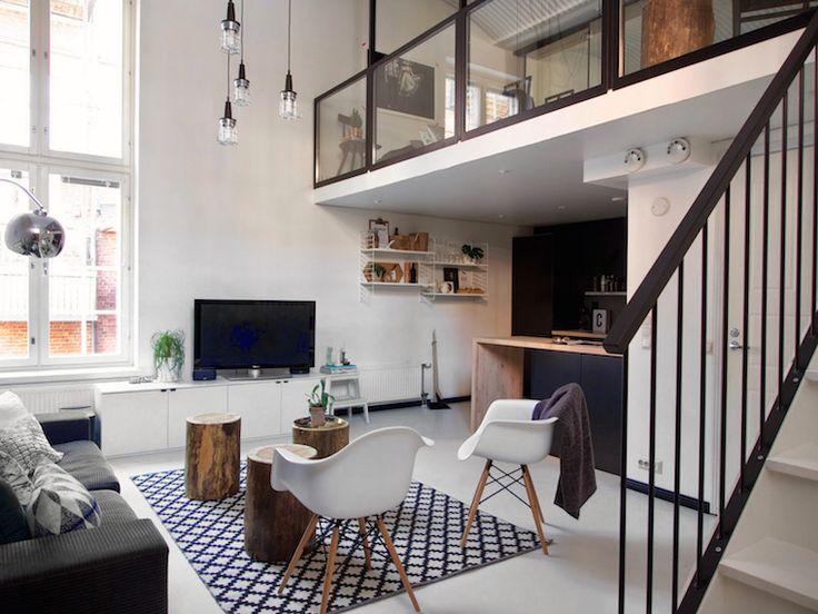 Una vivienda de doble altura | tránsito inicial