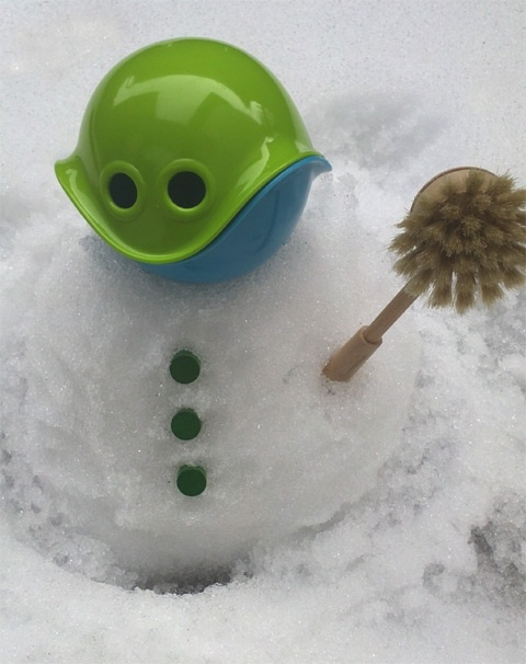 Bilibo Toy Review : Bilibo snowman play idea