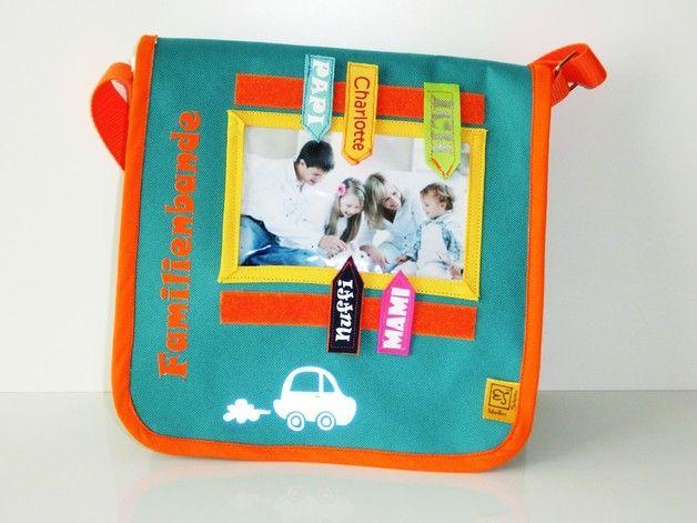 Kindergartentaschen - Kindergartentasche Familienbande,Jungen, Mädchen - ein Designerstück von Maddies_HuckePacks bei DaWanda