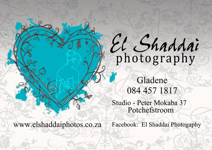 POTCH: Excited guests, gorgeous dresses, delicious food, beautiful flowers ... just a few of the many elements that make up a Potchefstroom wedding. I am so blessed to work in beauty, and to be able to share a couple's beginning in marriage. All the happiness, craziness, nervousness, seriousness and loving moments - I love being able to capture every couple's special moments forever.    With love,   Gladene   Visit my page on http://www.bellabride.co.za/el-shaddai-photography.html