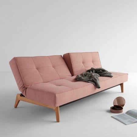 Design slaapbank Splitback Eik