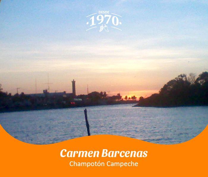 Champotón, Campeche por Carmen Barcenas.