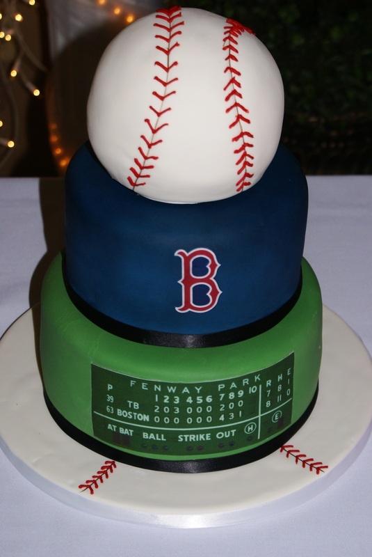 baseball groomsman cake   Differ Team