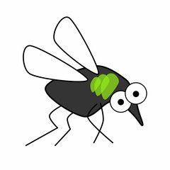 Mücke cartoon grün – Fotos, lizenzfreie Bilder, Vektorgrafiken und Videos