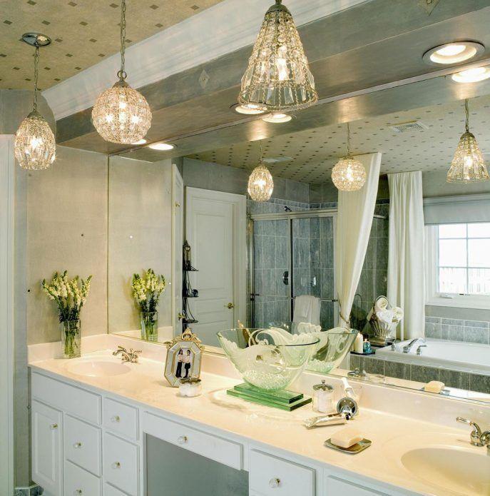 Bathroom Renewing Bathroom Vanity With Best Lighting Modern Pendant Light Bathroom Bathroom Light Pencahayaan Kamar Mandi Cermin Kamar Mandi Kamar Mandi Modern
