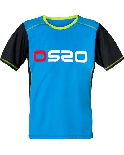 Camiseta técnica para actividades aeróbicas. Tejido transpirable y de secado rápido.