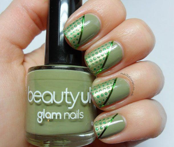Mejores 304 imágenes de uñas verdes en Pinterest | Uñas verdes ...