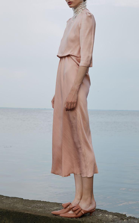 Puff Sleeve Dress by LAKE STUDIO