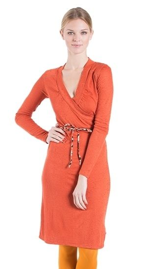 Blutgeschwister Jurk special attention oranje dress orange