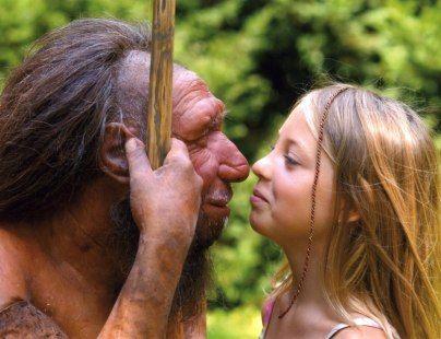 Der Neanderthaler trifft auf die Generation von heute, © Neanderthal Museum Mettmann/Holger Neumann
