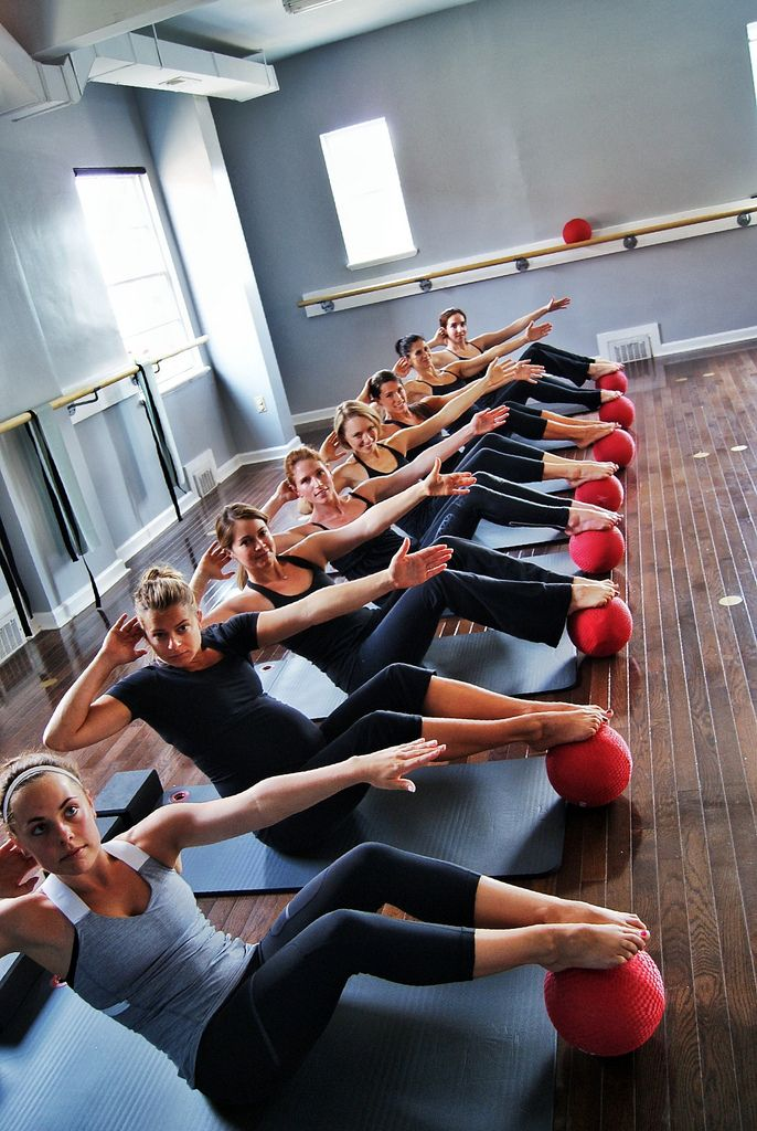Barre fitness class (core, abs, balance)