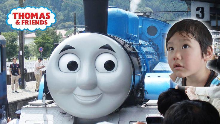Thomas and Friends トーマス号 大井川鉄道 SL きかんしゃトーマス SL Japan そうちゃん3歳 | KidsOfNinja