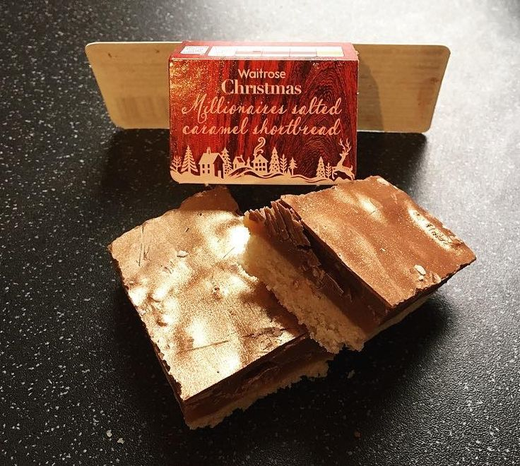 New Glittery Review - Waitrose Christmas Salted Caramel Shortbread