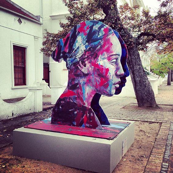 Malay Girl - Lionel Smit Plein Street, Stellenbosch - Town Hall, Cape Town