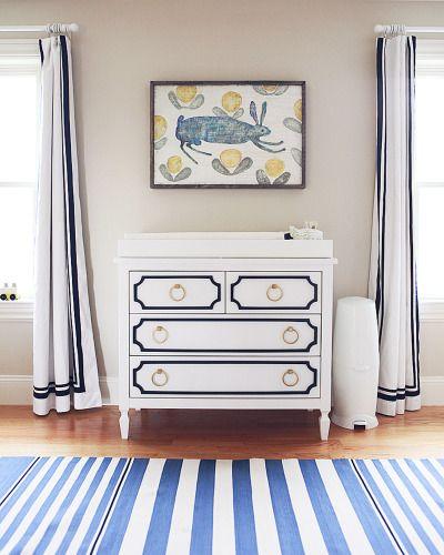 Painted Dresser/ chest detail