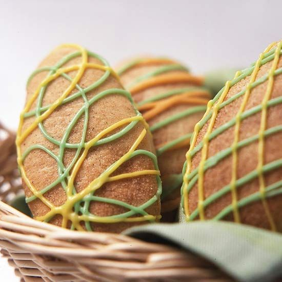 Banana Easter Egg Rolls - Kids will have fun with this! From bhg.com