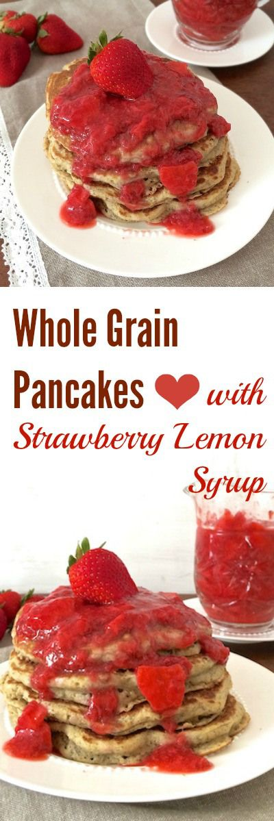 Pancakes you can feel good about - made with whole wheat flour and ...