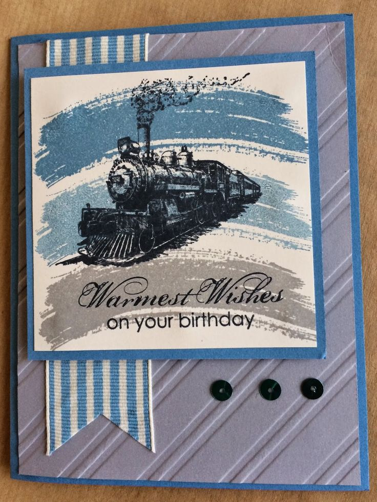 458 best masculine cards images on pinterest masculine cards chez moi creations stampin ups traveller birthday card locomotive bookmarktalkfo Gallery