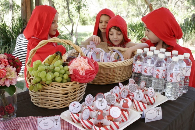 Little Red Riding Hood Party