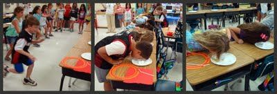 Minute To Win It in the classroom - great for end of the year party or to celebrate the end of testing :)