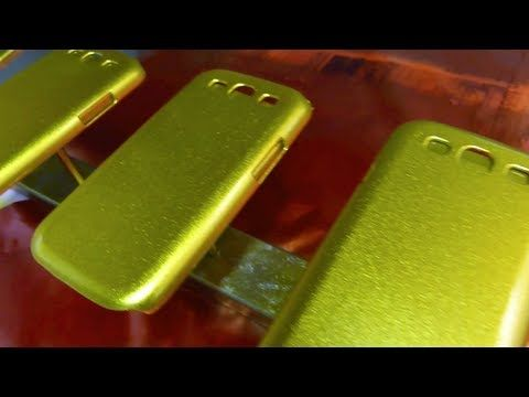 Water Transfer Printing | Candy Phone Cases - Production Process | HG Arts Tech - YouTube