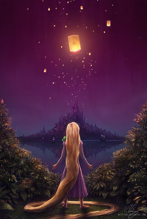 Rapunzel - Sunset