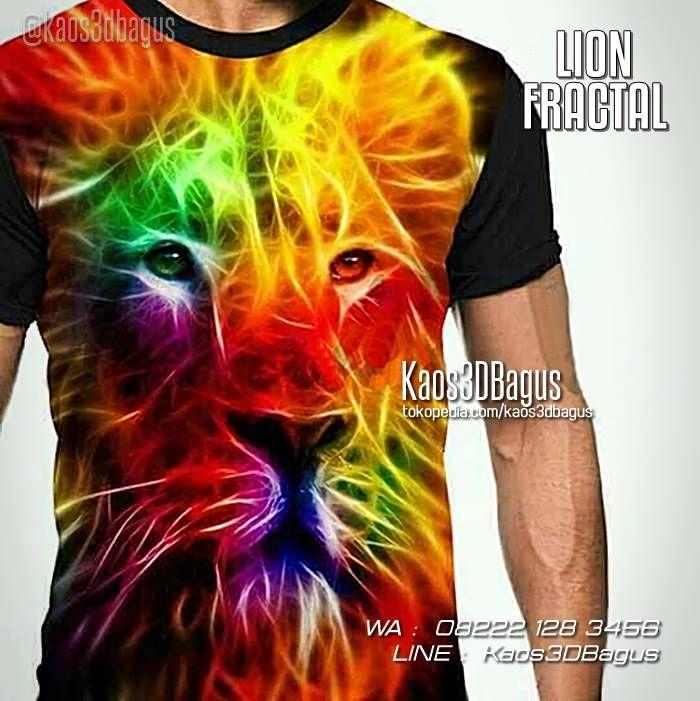 Kaos SINGA, Kaos LION, Kaos Kepala Singa, Kaos 3D Lion Fractal, Kaos Animal, WA : 08222 128 3456, LINE : Kaos3DBagus, https://kaos3dbagus.wordpress.com/2015/09/11/jual-kaos-3d-harimau-kaos-tema-harimau-kaos-gambar-macan-tiger-3d-t-shirt/