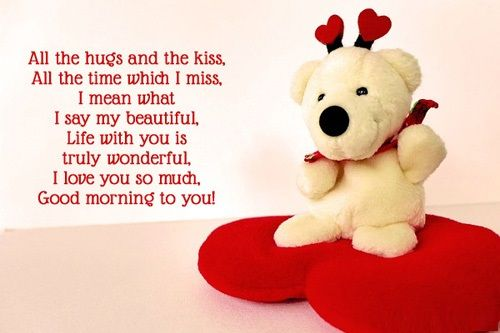 Good Morning Girlfriend messages and quotes
