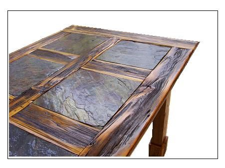 Nature Table: Reclaimed Barn Wood Tables in Auburn, NY :: Levanna Restoration Lumber