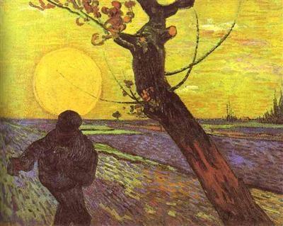 Le semeur Van Gogh